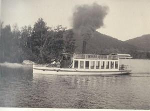 Steamer Halcyon 1903