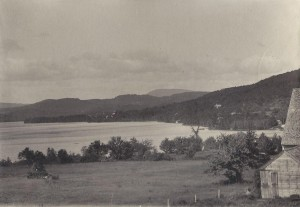 Little Squam from Camp Estes 1903