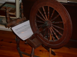 Hugh Ramsey Flax Wheel - circa 1800.